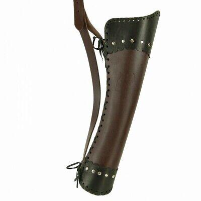 Bogenschießen Ordentlich El Toro Rückenköcher Viking Lederköcher Traditioneller Köcher Bogenköcher