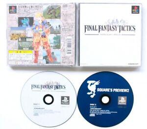 USED-PS1-PS-PlayStation-1-Final-Fantasy-Tactics