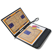 Basketball Coaching Board Coaches Clipboard Tactical Kit Dry Erase w/ Marker New