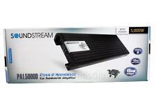 Soundstream PA1.5000D 5000 Watts Monoblock Class D Car Subwoofer Amplifier New