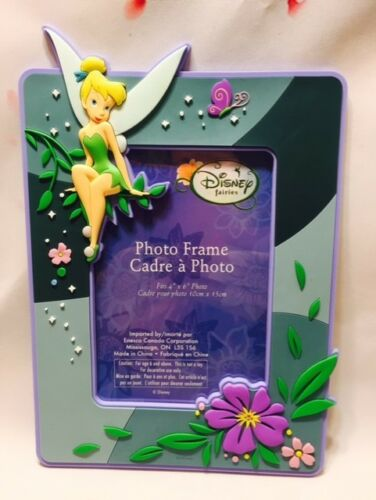 Tinker Bell Fairy Vinyl Picture Frame 4x6 inch Photo