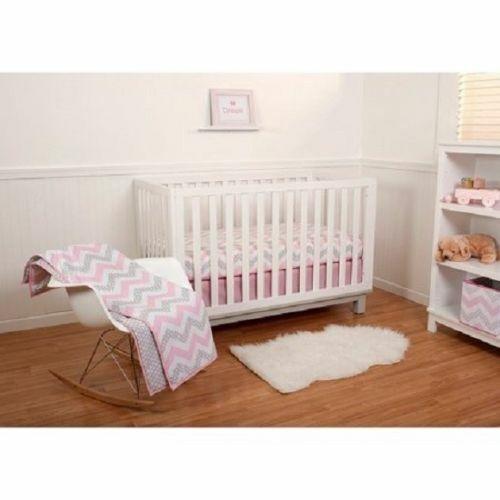 Pinwheel 5 Piece Crib Bedding Set Safari Girl