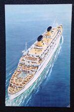 SS Homeric @ Sea Color Postcard - Home Lines