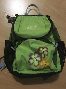 Details zu Jack Wolfskin Little Joe Kinder Rucksack Tasche Blumen Kindergarten