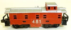 Caboose-481-Rojo-Arnold-Rapido-200-Escala-N-HS4-a
