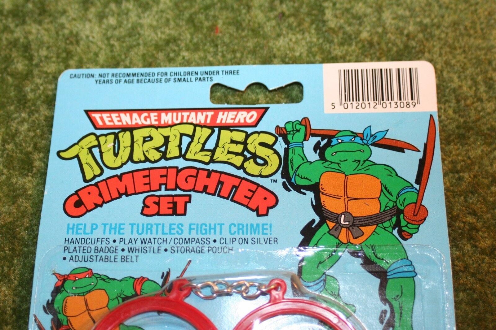 Teenage mutant ninja turtles Crimefighter set TMNT
