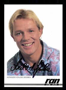 Alexander Von Der Groeben Autogrammkarte Original Signiert Bc