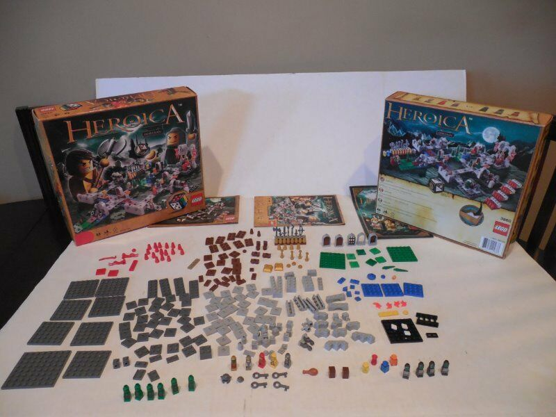 RARE & Retired LEGO Games HEROICA CASTLE FORTAAN 3860 w  Box Manuals EXCELLENT