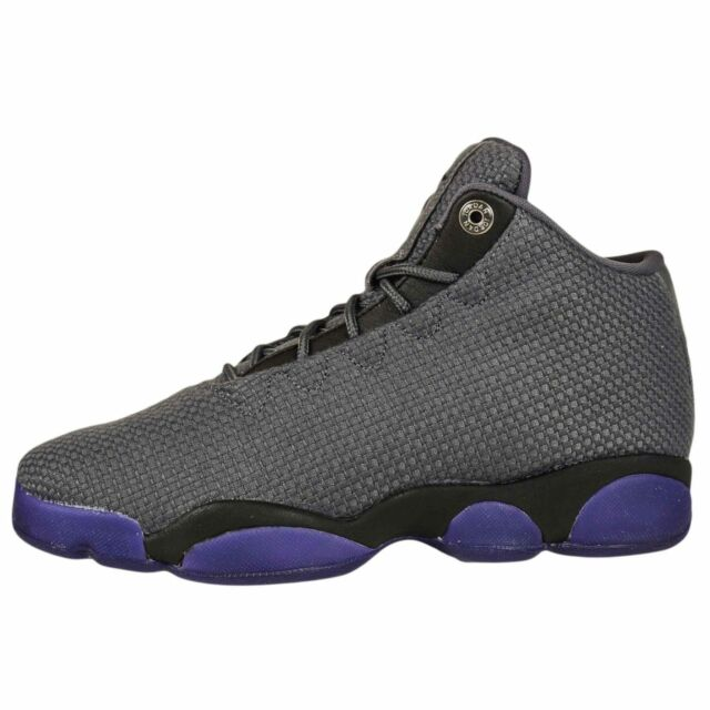Nike Air Jordan Horizon Low BG Big Kids Youth Shoes Dark Grey/Black 845099-