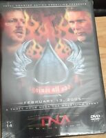 Tna Wrestling - Against All Odds 2005 (dvd, 2005, 2-disc Set) Wwe Nxt Wcw Ecw