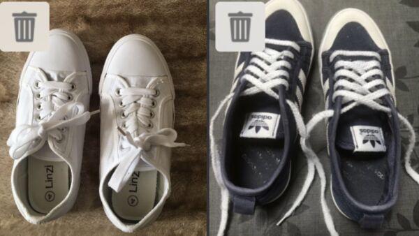 """linzi"" & Adidas Donna-bambina Scarpe/ballerine-tg Uk 4-next Day Post-londra Tecnologie Sofisticate"