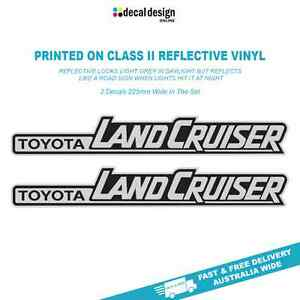 LandCruiser-Reflective-Vinyl-Decals-2-Pack-Suitable-for-Toyota-4x4-offroad-range
