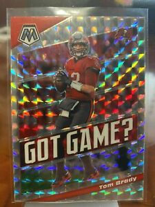 2020 Panini Mosaic Tom Brady #662 Got Game Insert - Silver Mosaic - Tampa Bay