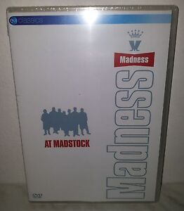 DVD MADNESS - MADSTOCK - NUOVO - NEW