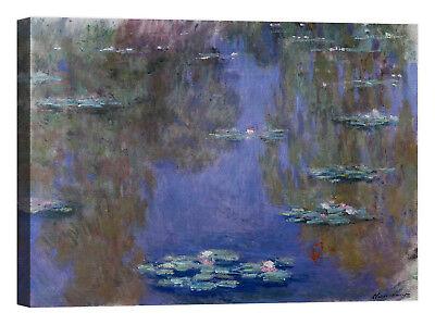 Claude Monet Impression au soleil levant Stampa su tela Canvas effetto dipinto