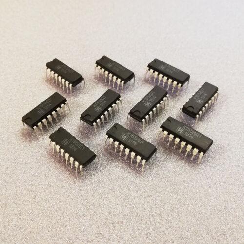 K155id1 chauffeur pour tubes Nixie SN74141N SN74141J 74141 Nouveau Chip 6 Pièces