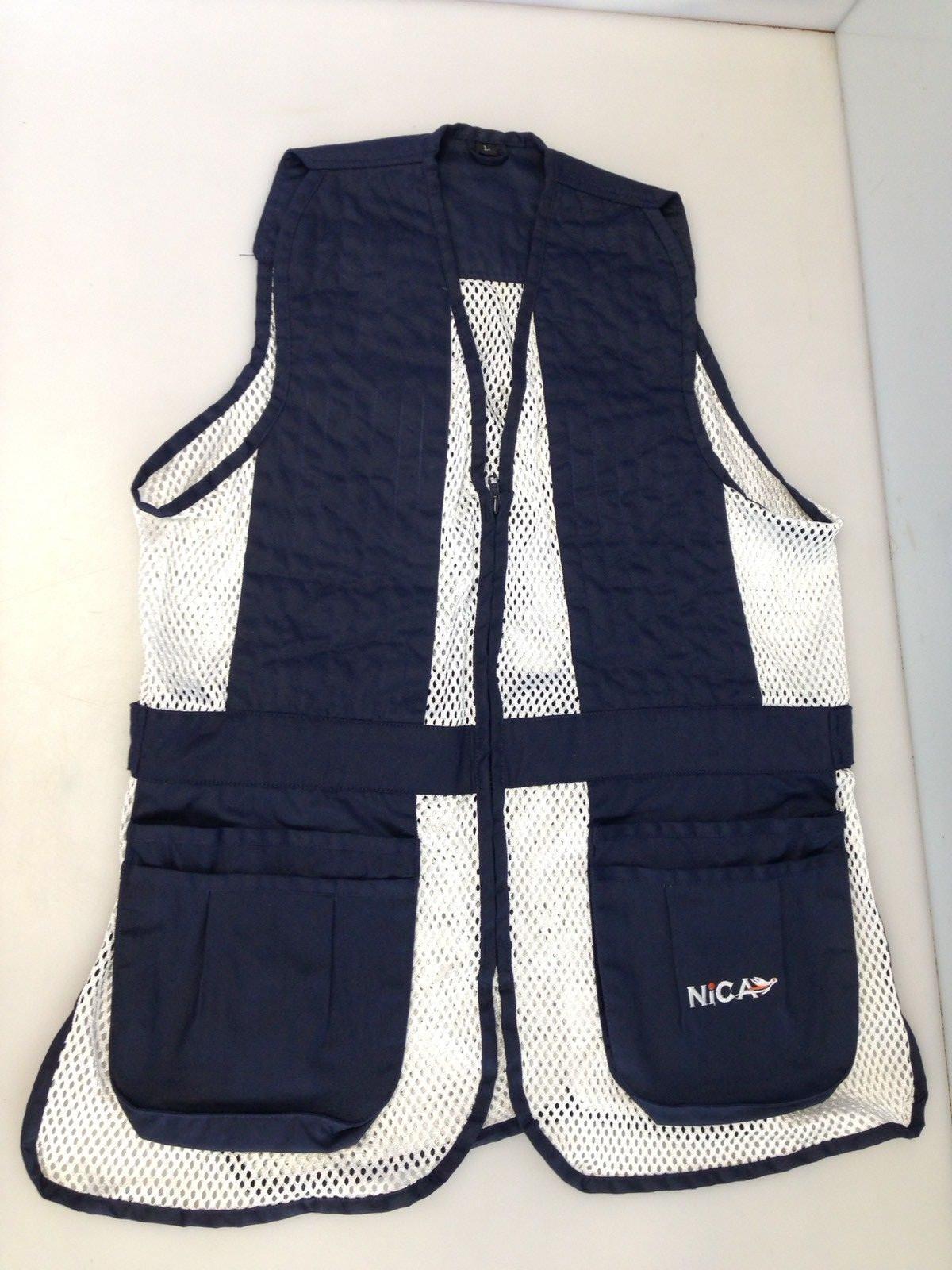 NICA Ambi Shooting Vest - Large - Navy - VNI501-NAV-L