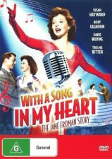WITH A SONG IN MY HEART (1952 Susan Hayward) -  DVD - UK Compatible - sealed