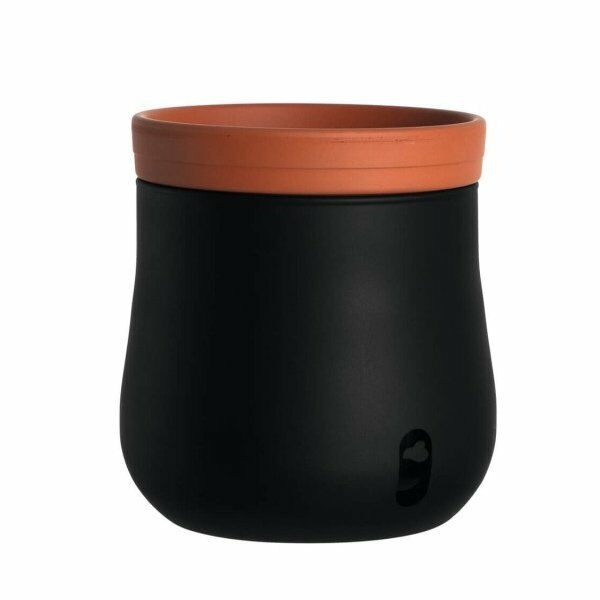 Übertopf Übertopf Keramik Blumentopf Serra Pflanztopf S schw Leonardo GK//2tlg