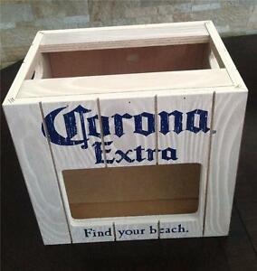 Corona Extra Beer Wooden Lime Holder Bar Counter Storage ...