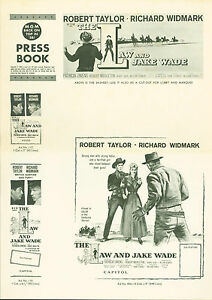 The-Law-and-Jake-Wade-1958-Robert-Taylor-Richard-Widmark-pressbook