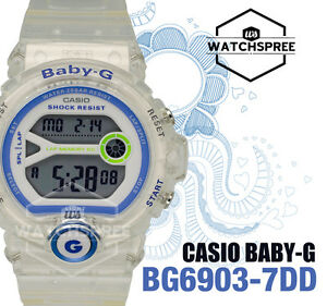 Casio-Baby-G-For-Running-Series-Ladies-039-Watch-BG6903-7DD