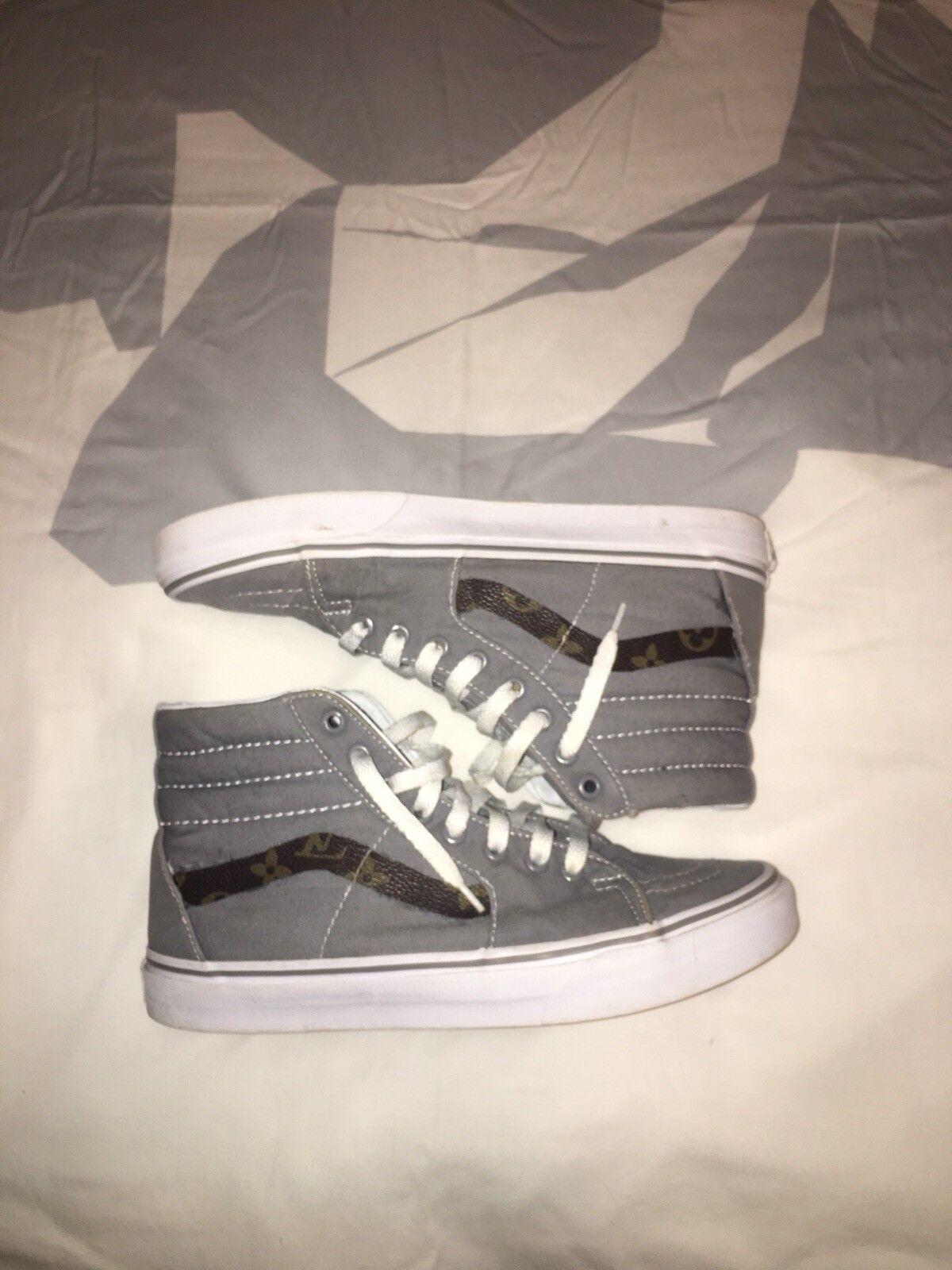 4ae354e5c3082 MEN Size 8.5 Vans Sk8 hi Custom nphbbn3710-Athletic Shoes - new ...