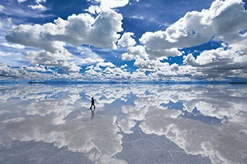 Epoch Jigsaw puzzle Uyuni salt lake Bolivia 1500 small pieces from Japan