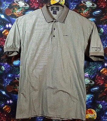Mens Mercedes Benz Golf Polo Shirt  Casual Fashion Wear Size XL Very Nice!