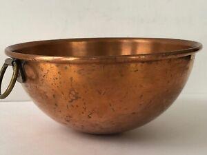 Vintage Copper Bowls Copper Mixing Bowls Hanging Copper Bowls Vintage Copper Mixing Bowls