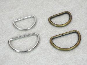 20-50-100-D-Ringe-fuer-20-25mm-Band-silber-oder-antik-messing-2-5mm-Draht