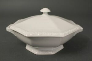 Rosenthal-Maria-White-Soup-Tureen-Small-Bowl-Dish-Lid-7-7-8in