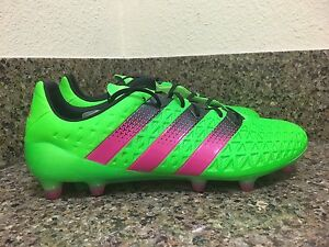new products e79ad 4cfe8 Image is loading ADIDAS-ACE-16-1-FG-AG-SOCCER-CLEATS-