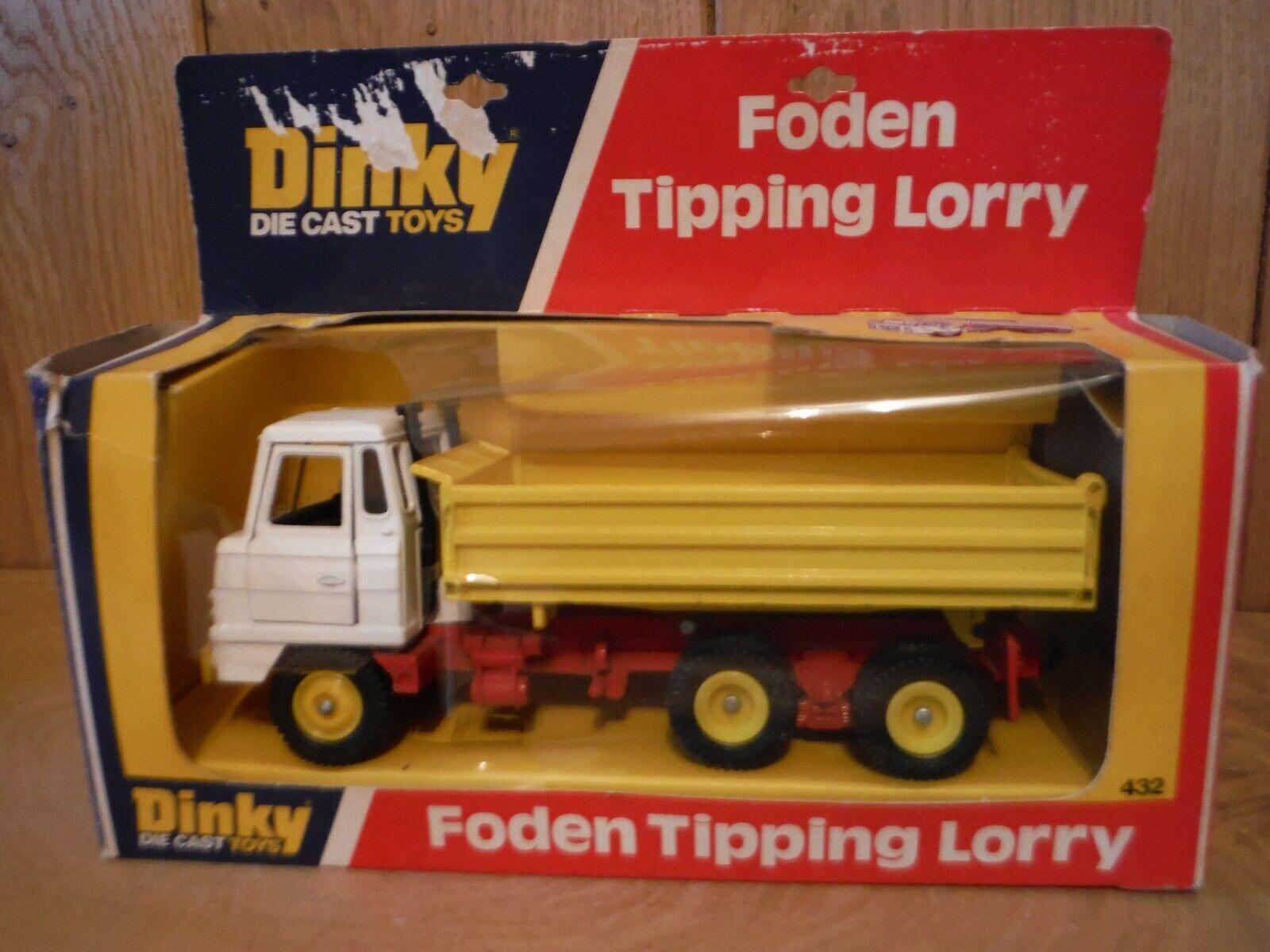 Dinky 432 Foden Volquete Camión En Caja