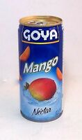 Goya Mango Fruit Nectar Juice Puerto Rico Refresco Cold Drink Beverage Food12lat