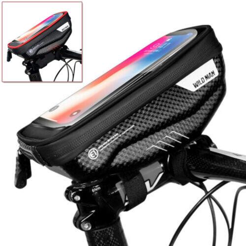 MTB Riding Cycling Touch Screen Phone Handlebar EVA 1pc Bicycle Bag For Wild Man