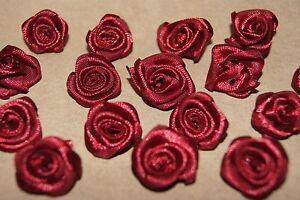 Rose Diorroschen Basteln Deko Satinrosen Dekoration Hochzeit 30 St