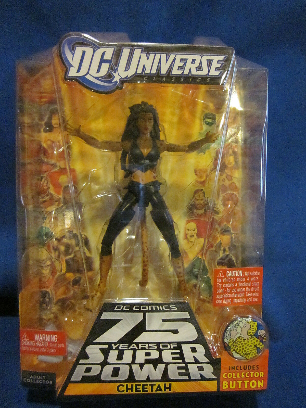 DC Universe  Cheetah Justice League Variant Sealed  una marca di lusso