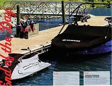 OEM Yamaha AR190/192 Series Deluxe Boat Cover Black MAR-190BK-TW-14