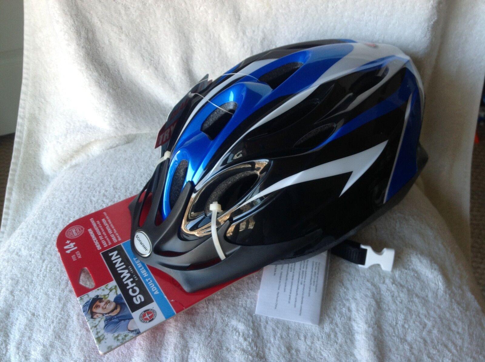 New Schwinn Descender Adult Helmet.14+.   ultra-low prices