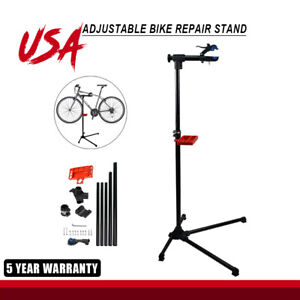 Adjustable-42-034-To-74-034-Repair-Bike-Stand-With-Telescopic-Arm-Clamp-Bicycle-Rack