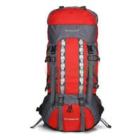 80L Waterproof Neutral Backpack Shoulders Bag 600D Camping Internal Frame Spotrs