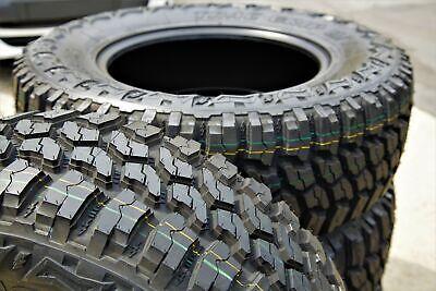 2 New Thunderer Trac Grip M T Lt 235 75r15 Load C 6 Ply Mt Mud Tires Ebay
