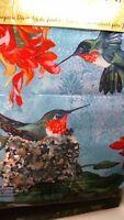 Evergreen 14a2781 Hummingbirds Decorative Flag, 12-1/2 X 18,