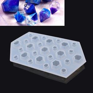 DIY-Diamant-Moule-Bijoux-Pendentif-Fabrication-Modelage-Manuel-Outil-Silicone