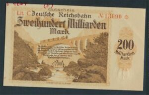 Karlsruhe-Pick-number-S1274-slightly-used-II-1923-200-Billion-Mark-8590208