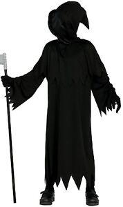 Nina-Nino-demente-Fantasma-Halloween-Terror-Capucha-Disfraz