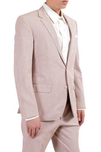 "Hugo Boss /""Hedson2//Gander1/"" Men/'s Striped Stretch Two Button Suit"