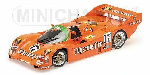 Porsche 962c Jägermeister Brun Boutsen spa #17 1:18 Minichamps
