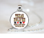 Texas Hold/'em Gotta Have Nut PENDANT NECKLACE Chain Glass Tibet Silver Jewellery